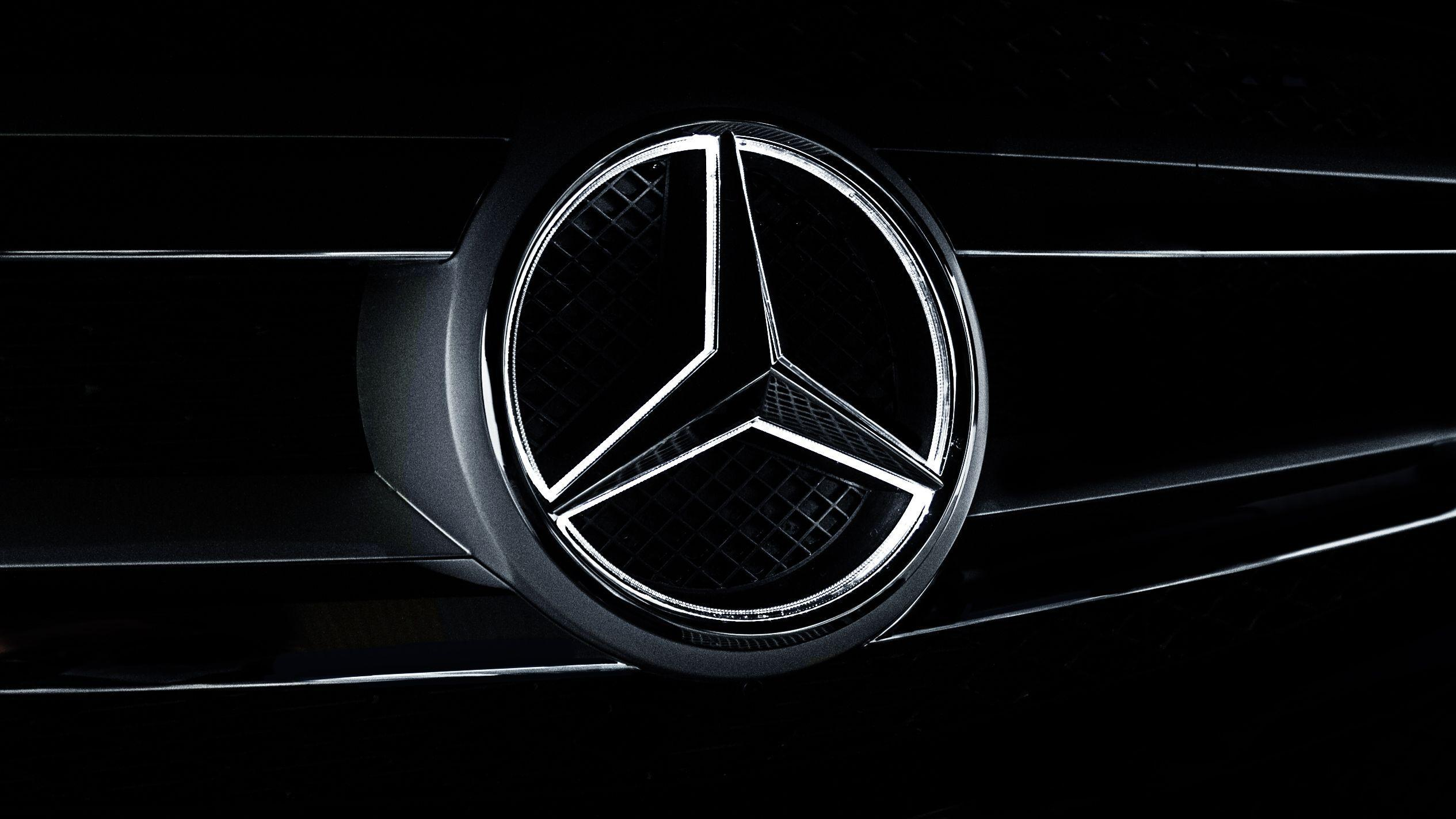 Mercedes Benz Logo Wallpapers Wallpaper Cave