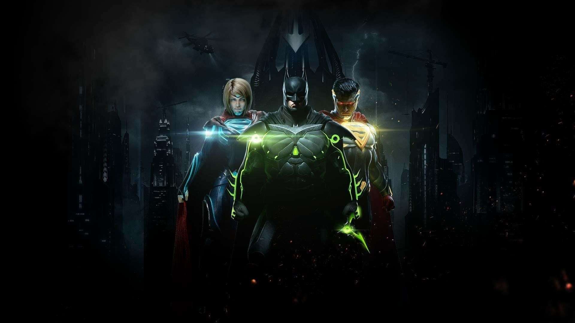 Injustice 2 Wallpapers Wallpaper Cave
