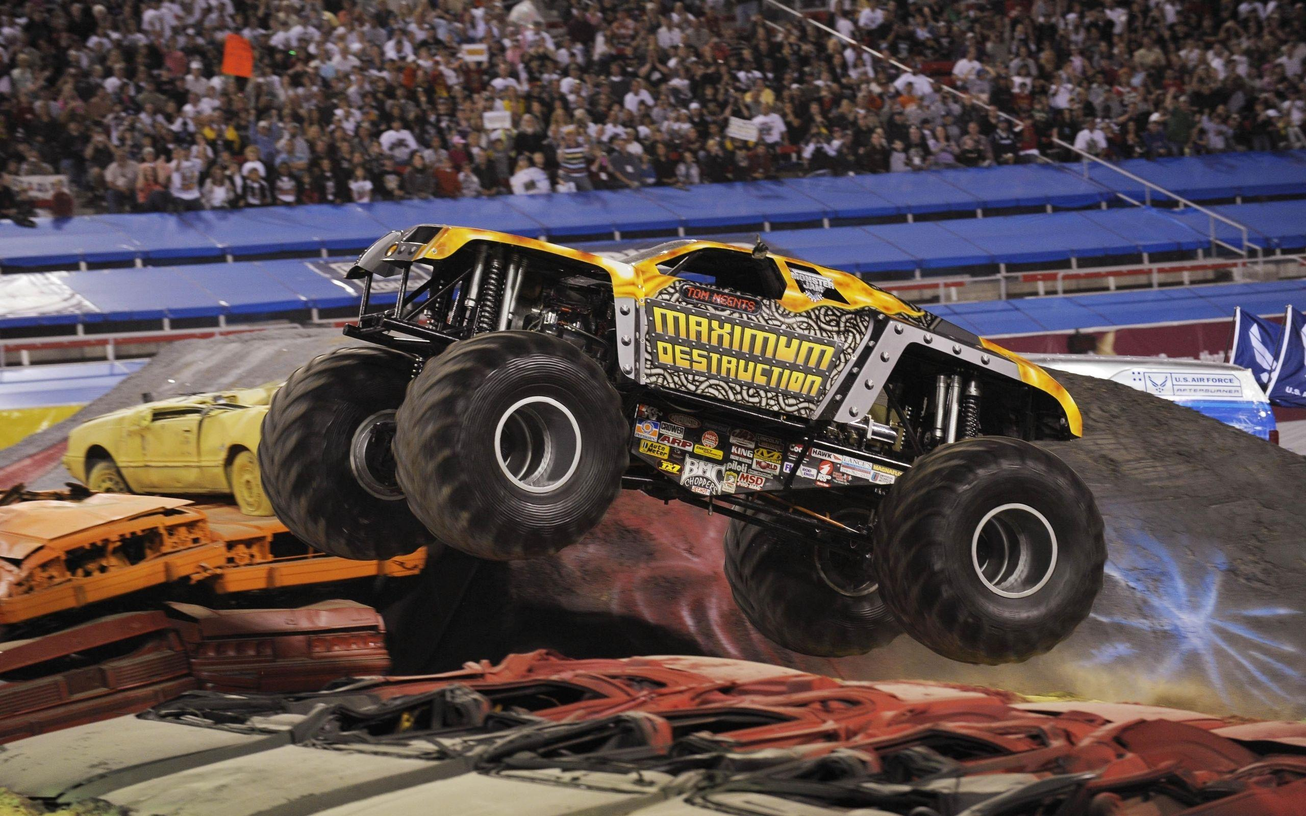 1 Monster Jam HD Wallpapers | Background Images - Wallpaper Abyss