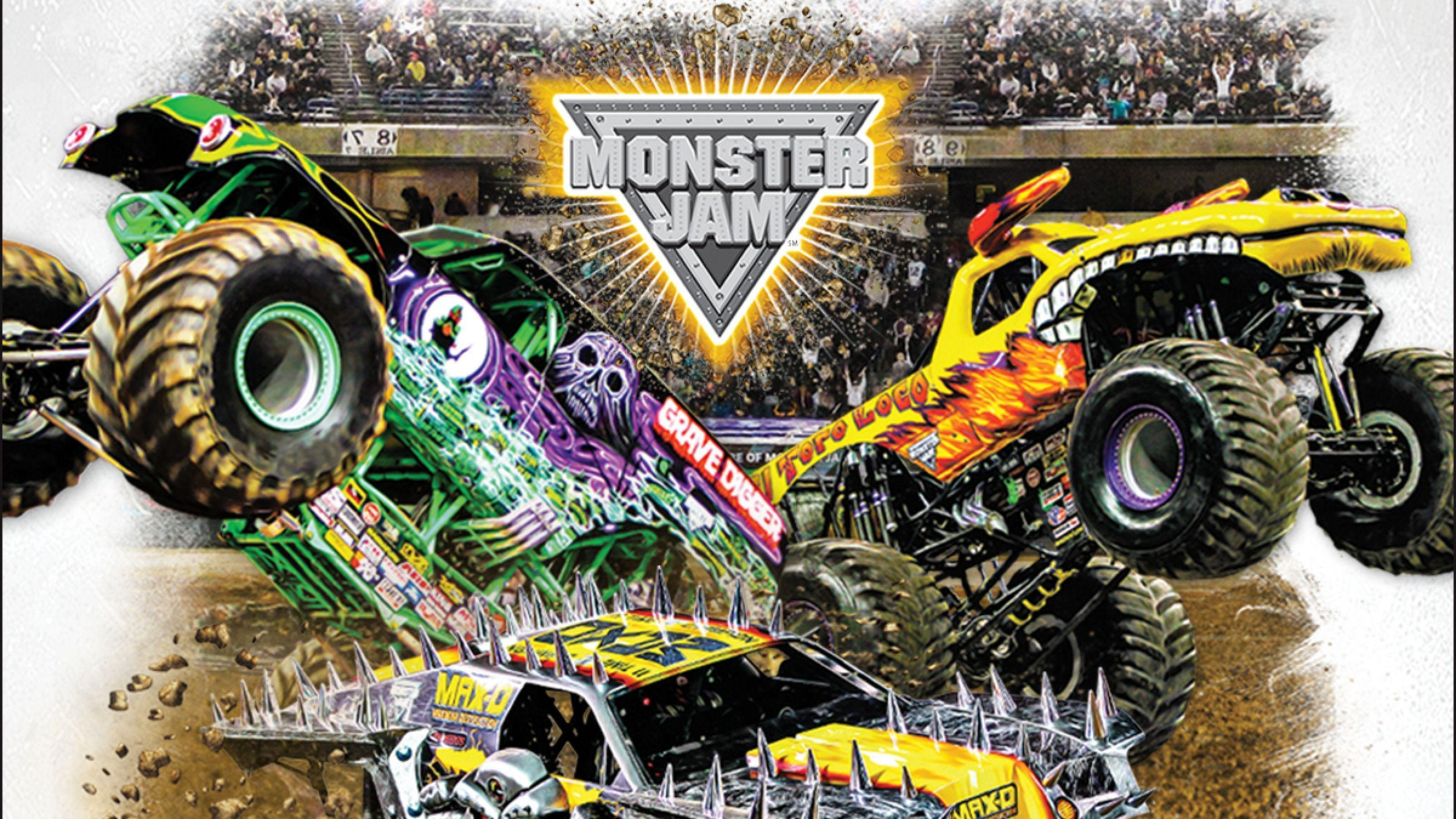 Monster Jam Wallpapers High Quality | Download Free