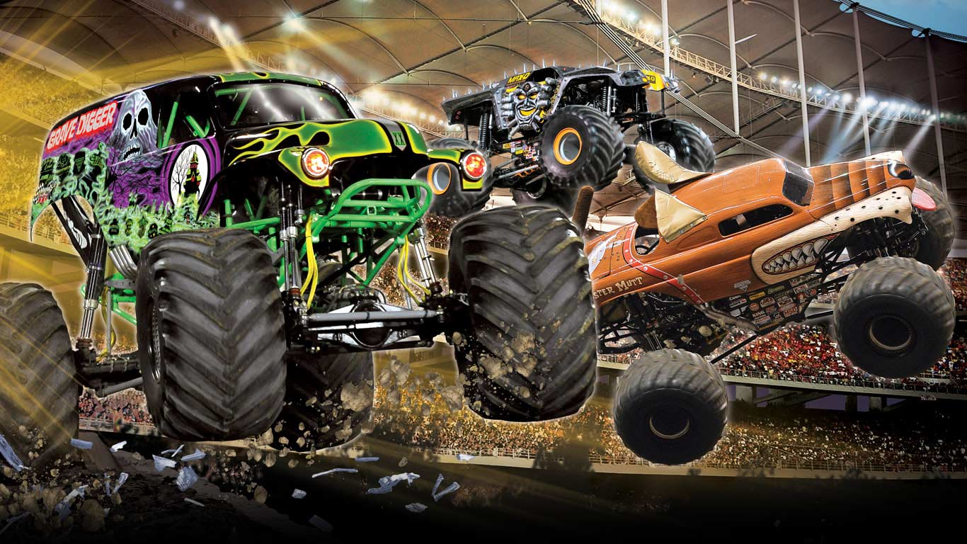 Monster Truck Wallpapers In Hd Wallpaper Cave