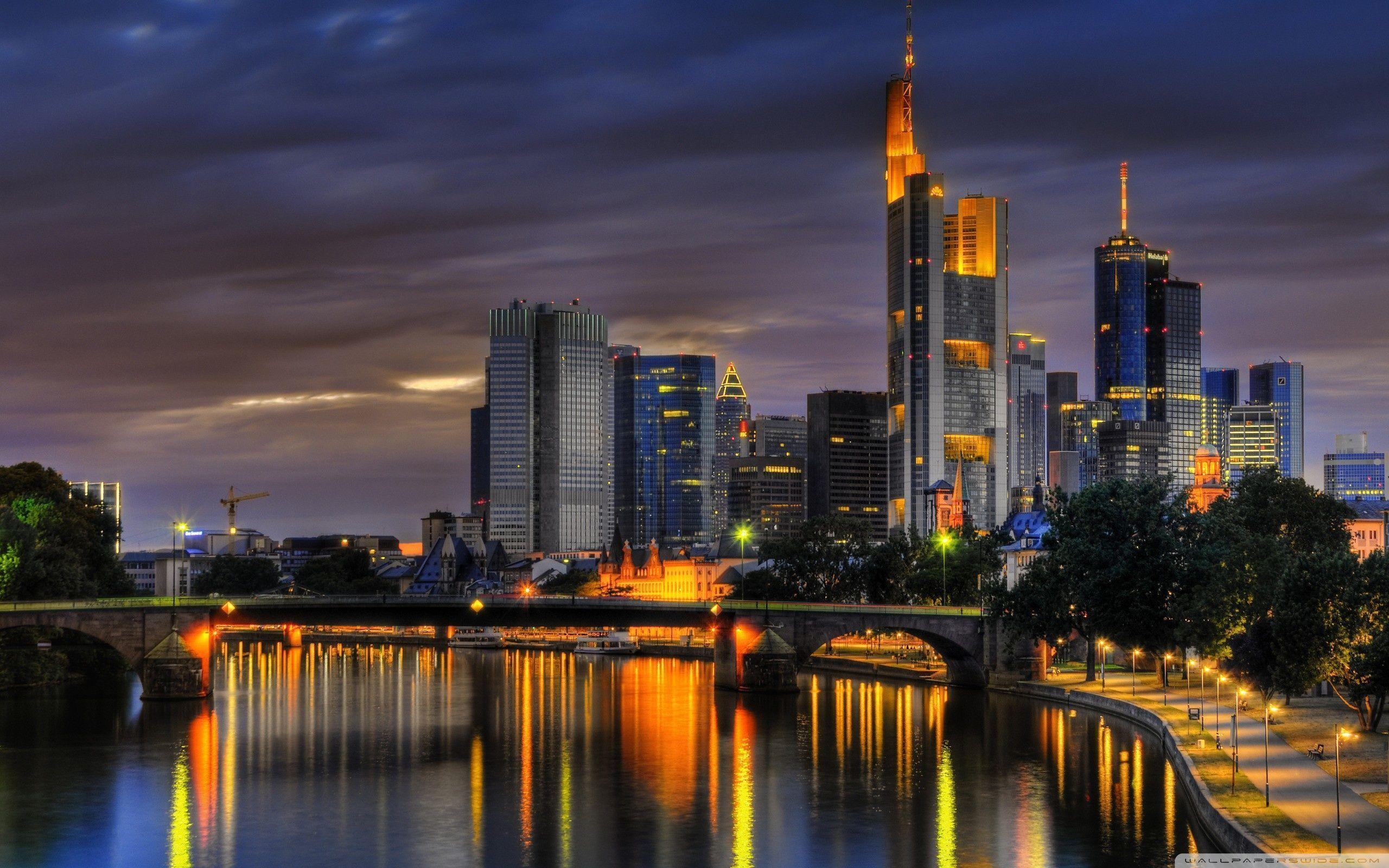 Frankfurt, Germany ❤ 4K HD Desktop Wallpapers for 4K Ultra HD TV