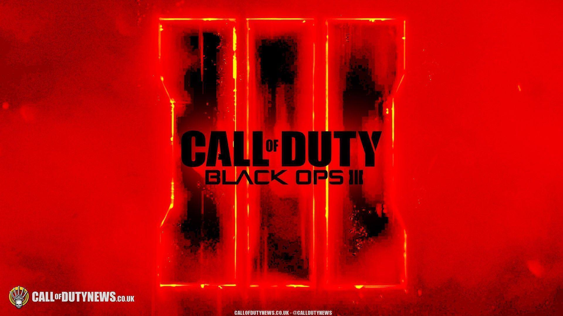 Download Call Of Duty Black Ops 3 Logo Wallpaper