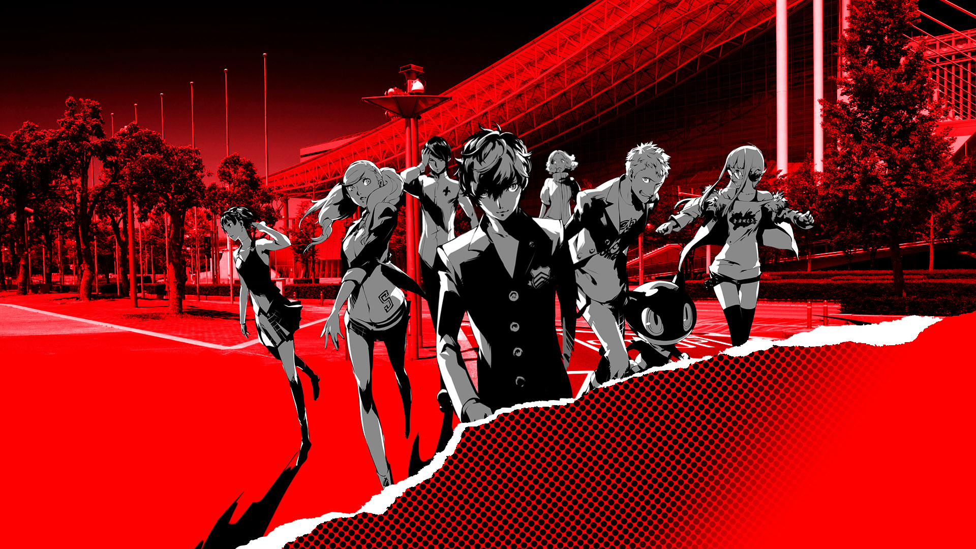 Anywhere i could find a 1080p wallpapers of this? : Persona5