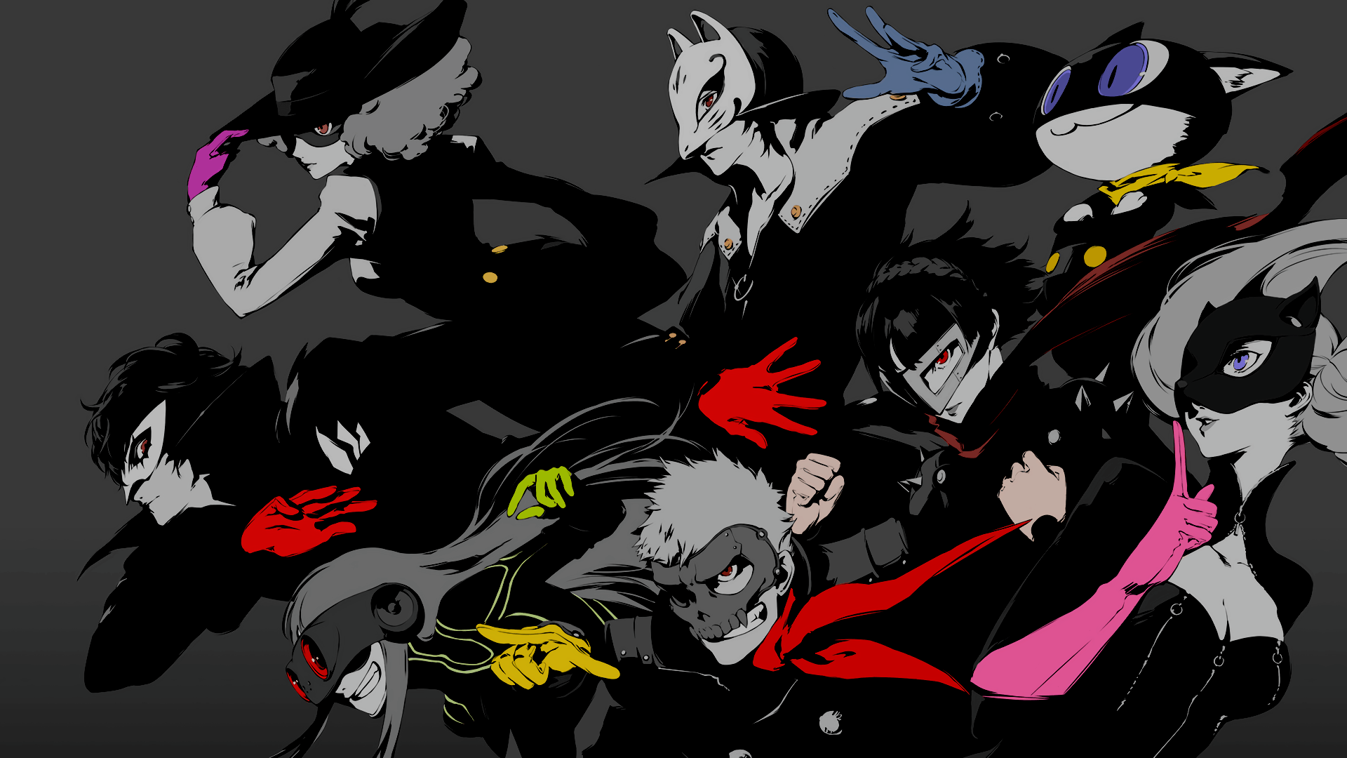 Selective Coloring) Persona 5 Wallpapers