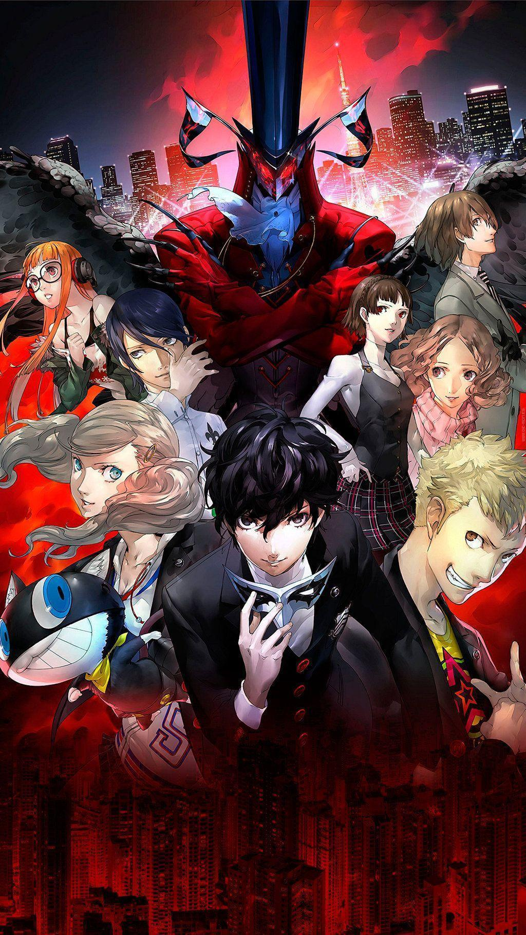 Persona 5 wallpapers for smartphone by De