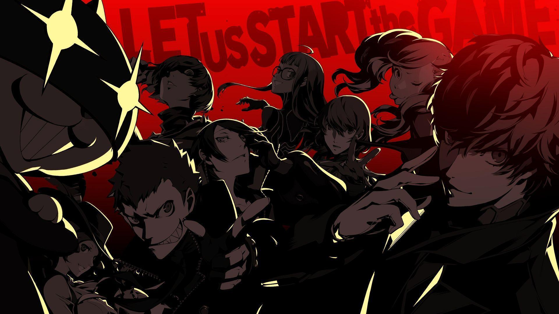 Portret bohatera Persona 5., wallpapers from Persona 5