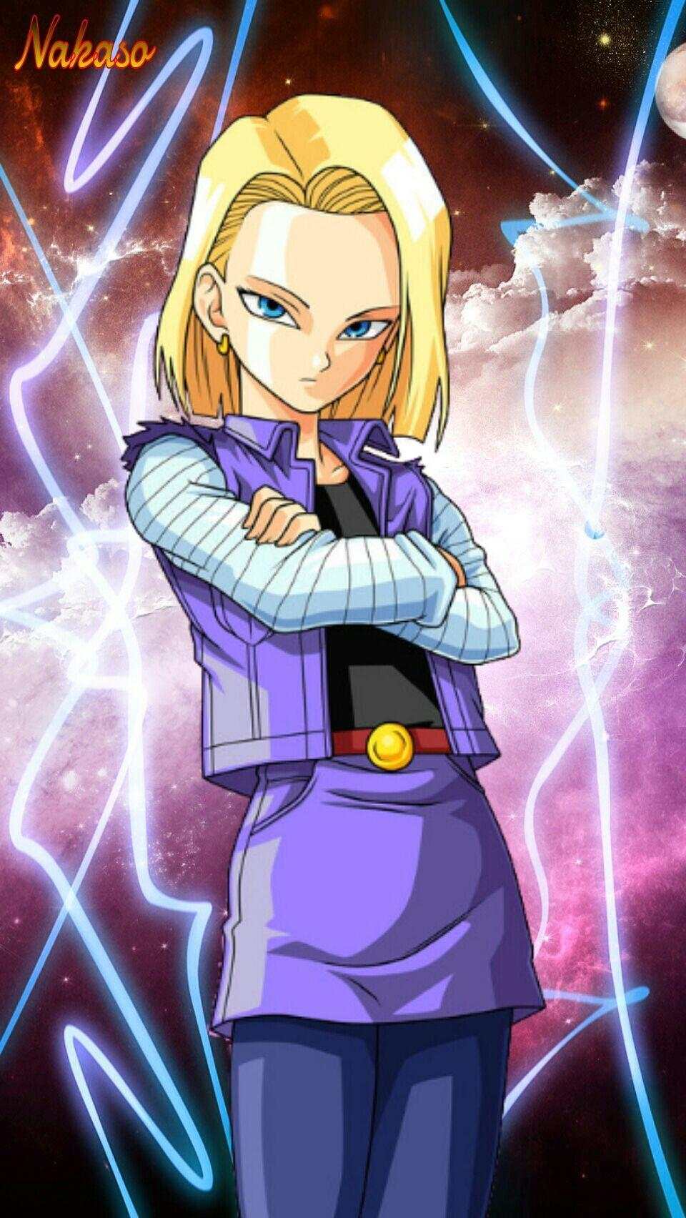 android 18 android 18 wallpapers wallpaper cave