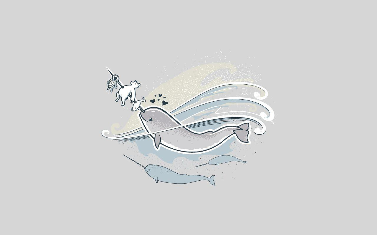 Cute Narwhal Wallpapers - Wallpaper Cave