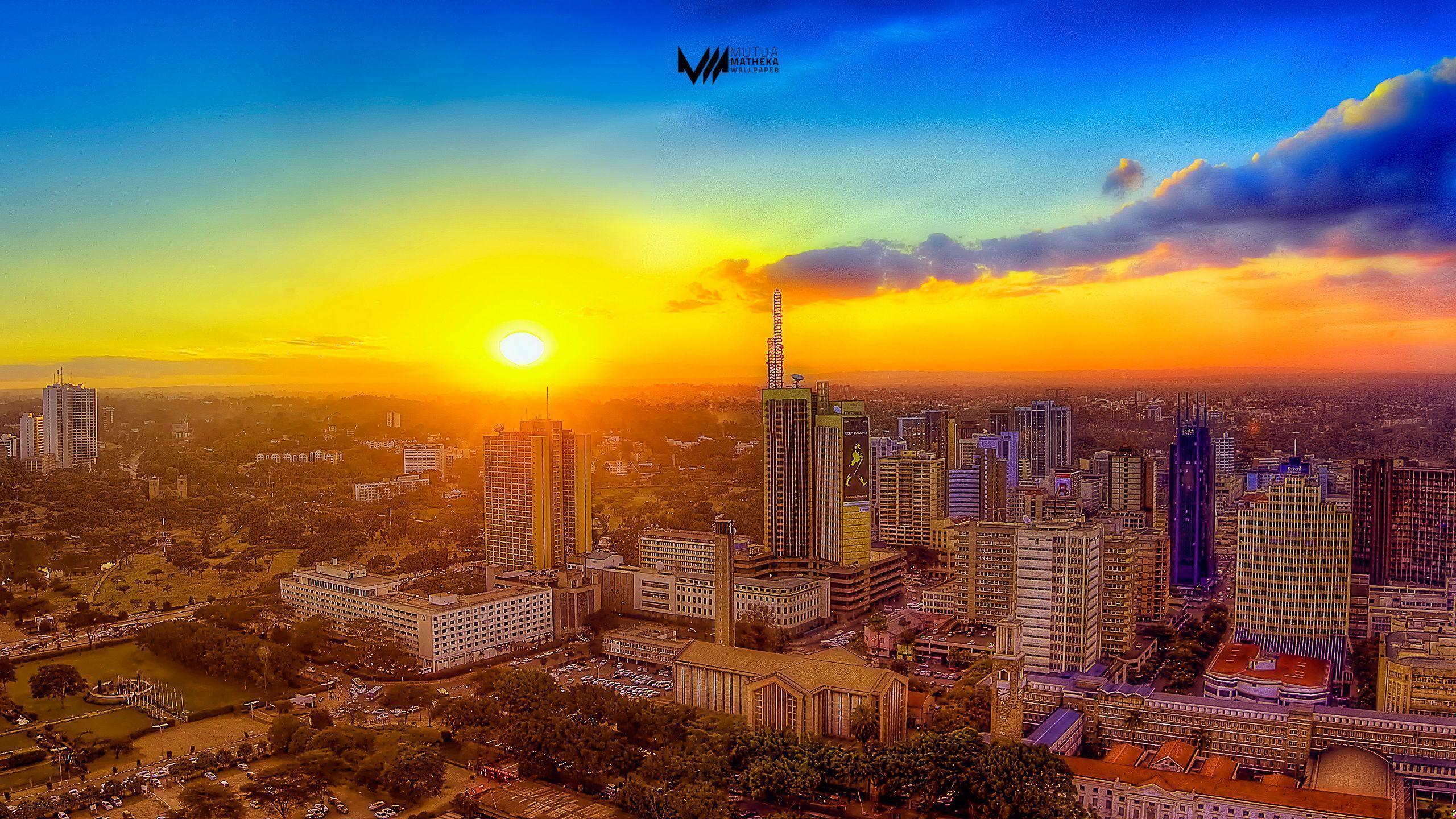 Wallpaper Monday [67] – Nairobi Sundowner |