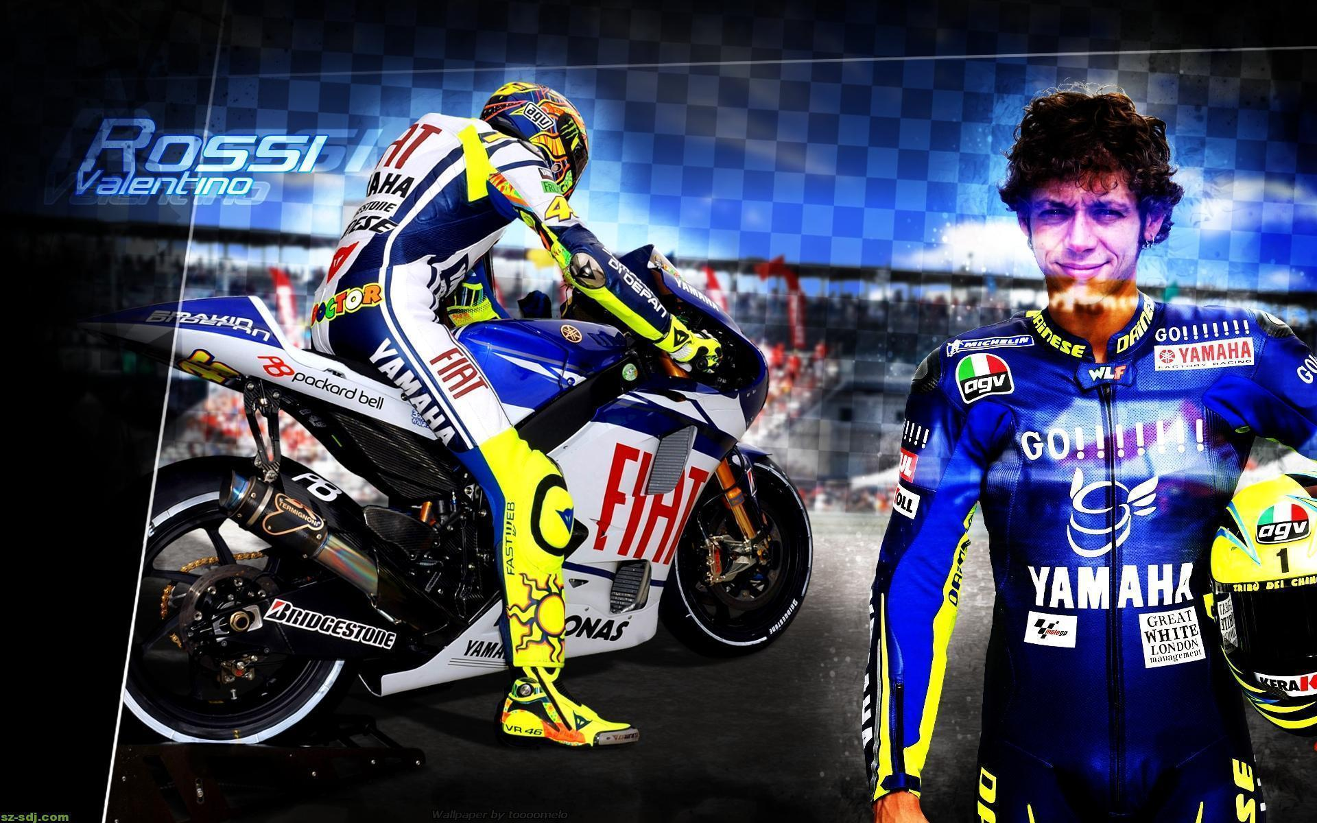 Yamaha Best Hd Valentino Rossi Hd Wallpapers Wallpapers Themes