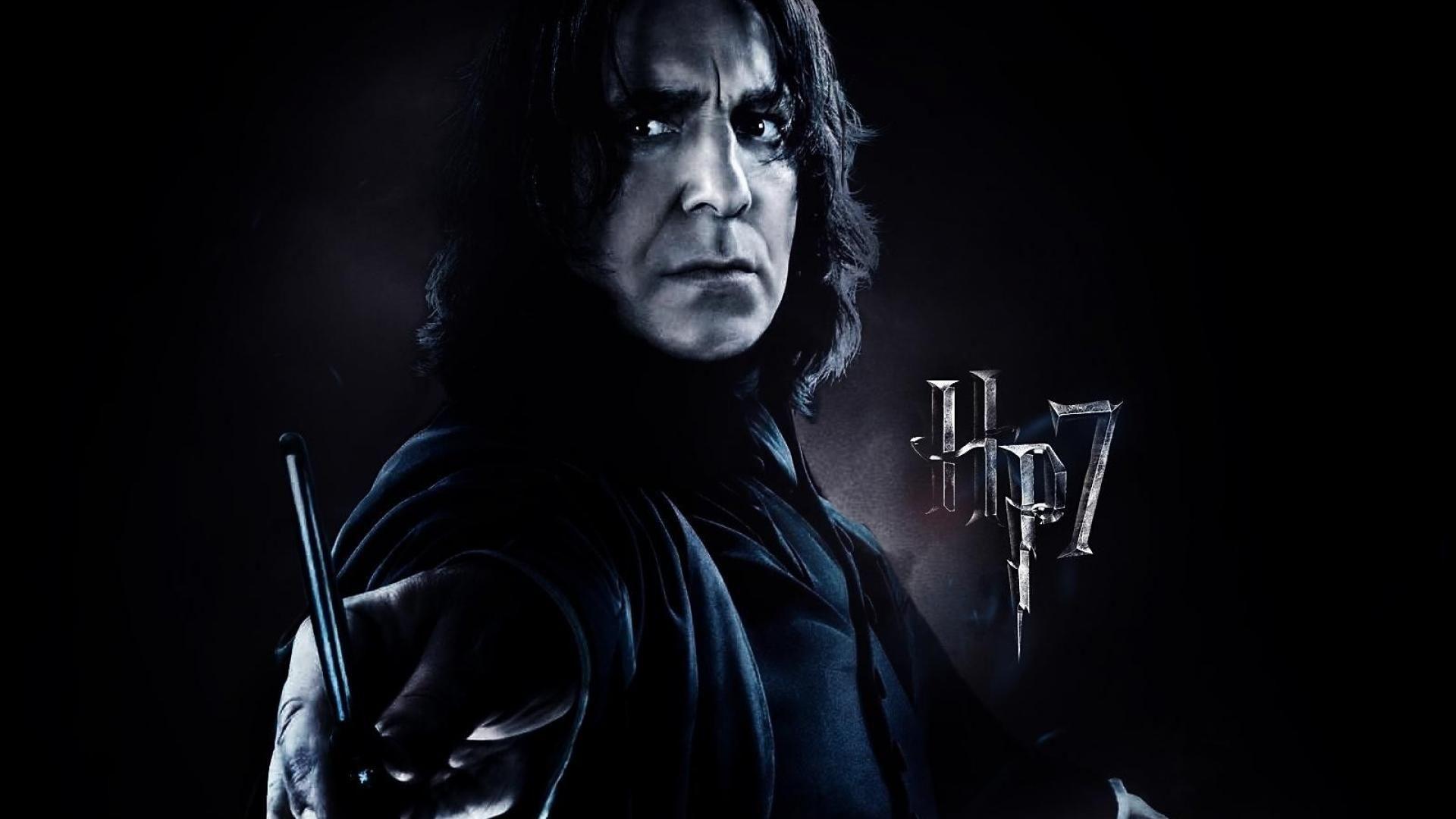 Alan Rickman as Severus Snape   Severus Snape Wallpaper