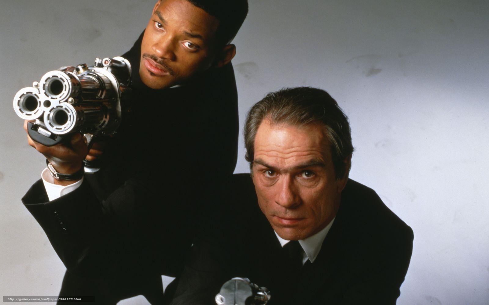 Download wallpapers Men in Black, Will Smith, Tommy Lee Jones free
