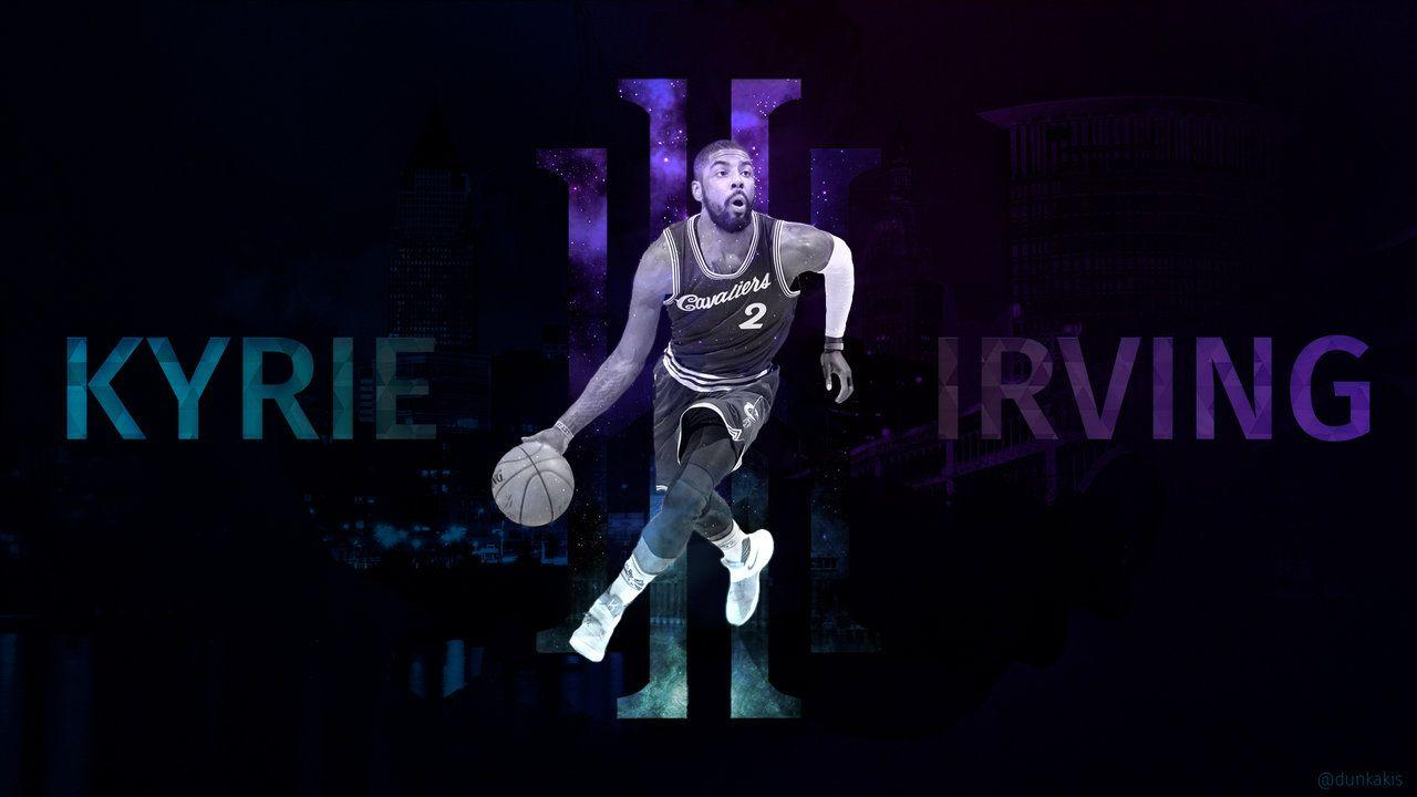 kyrie irving logo wallpapers wallpaper cave