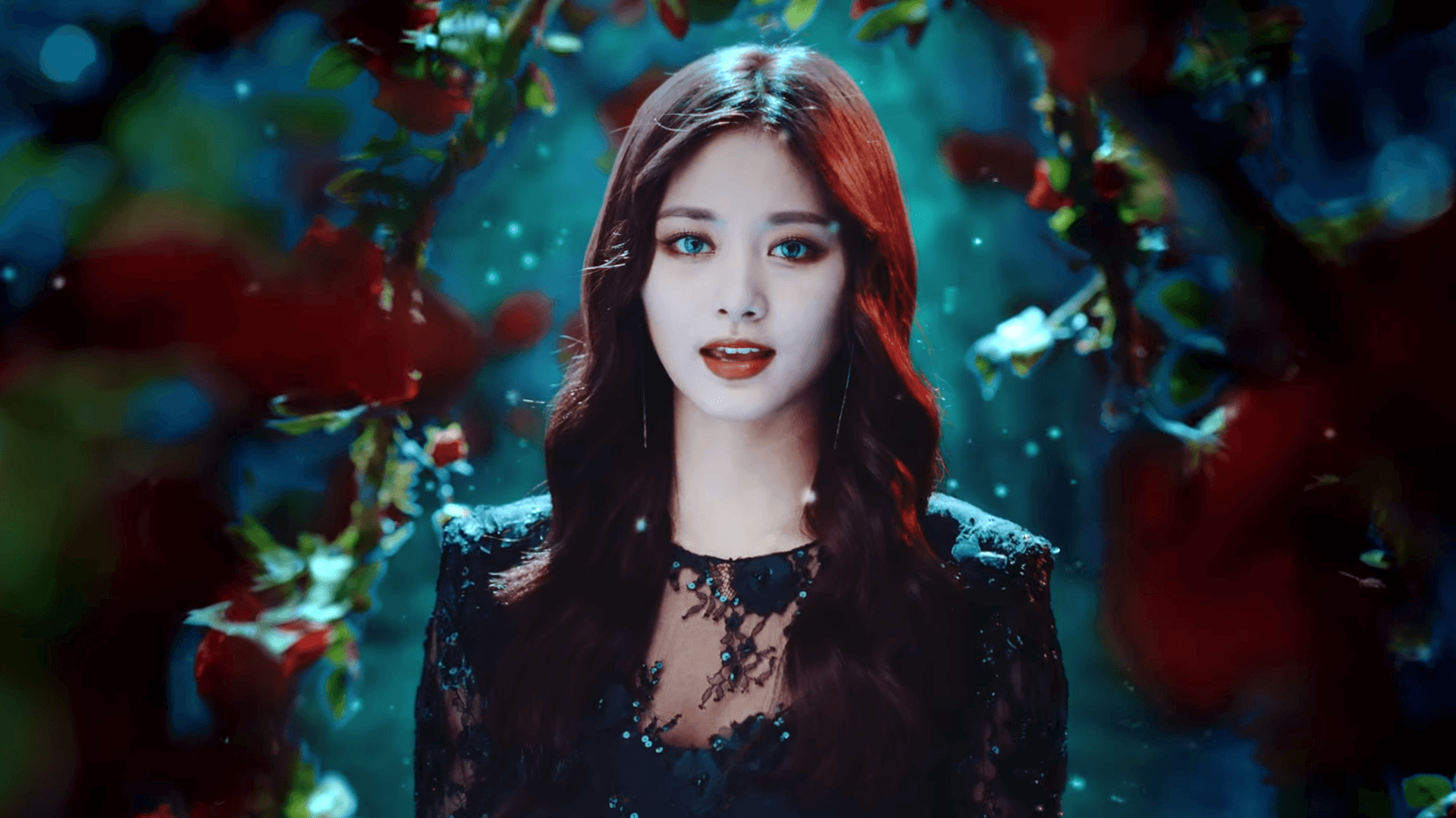 Tzuyu from MV brightened up for wallpapers 1080p : twice