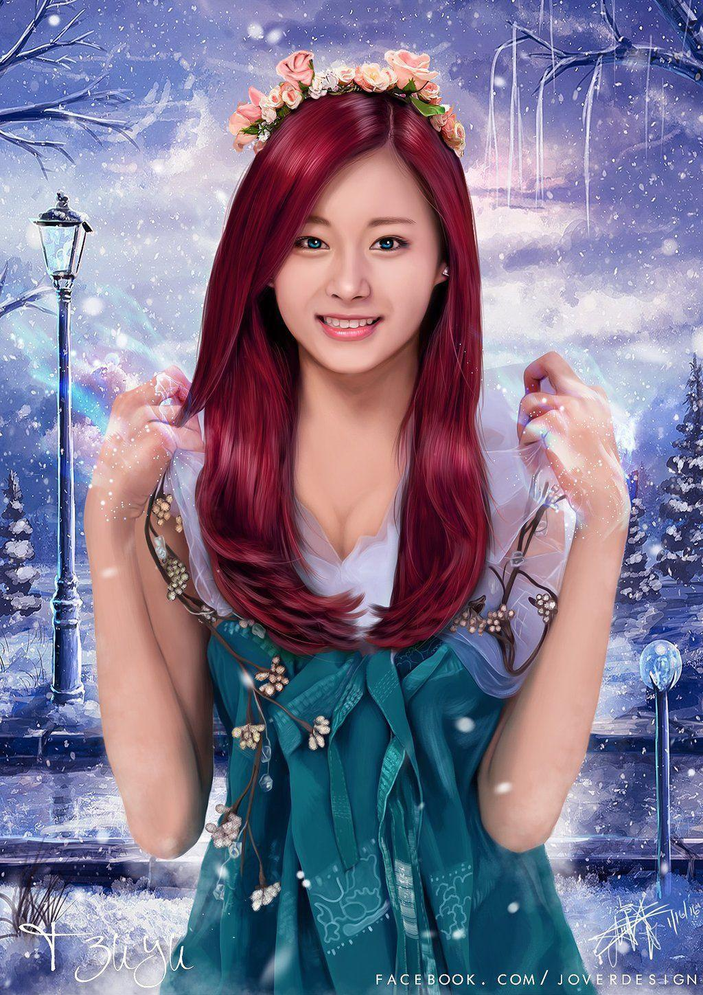 Twice Tzuyu by Jover