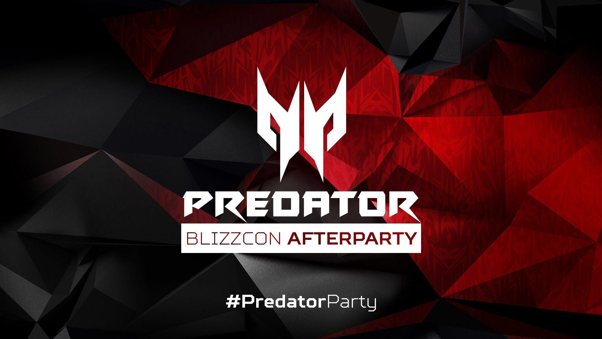 BlizzCon 2015 Acer Predator Afterparty