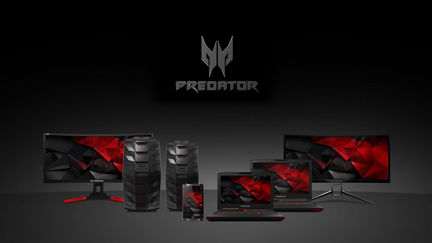 A look at the new Acer Predator Range