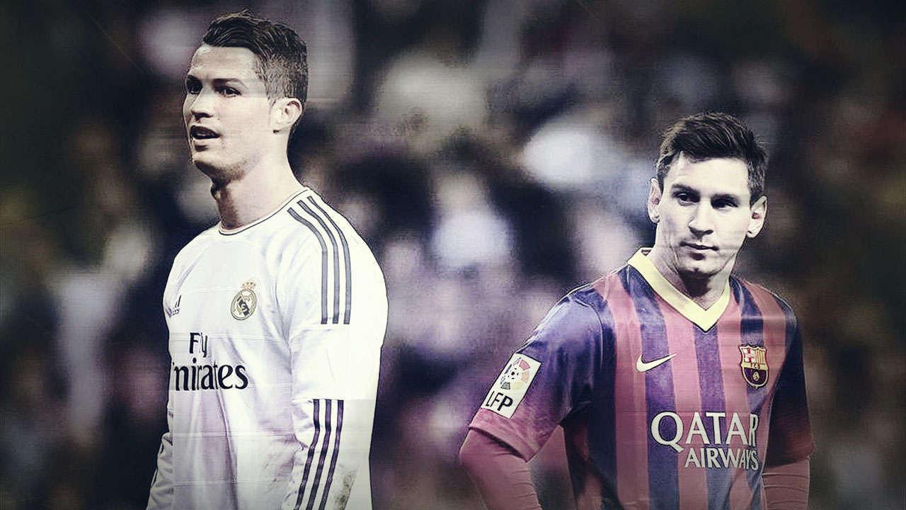 Messi Ronaldo Wallpapers Wallpaper Cave