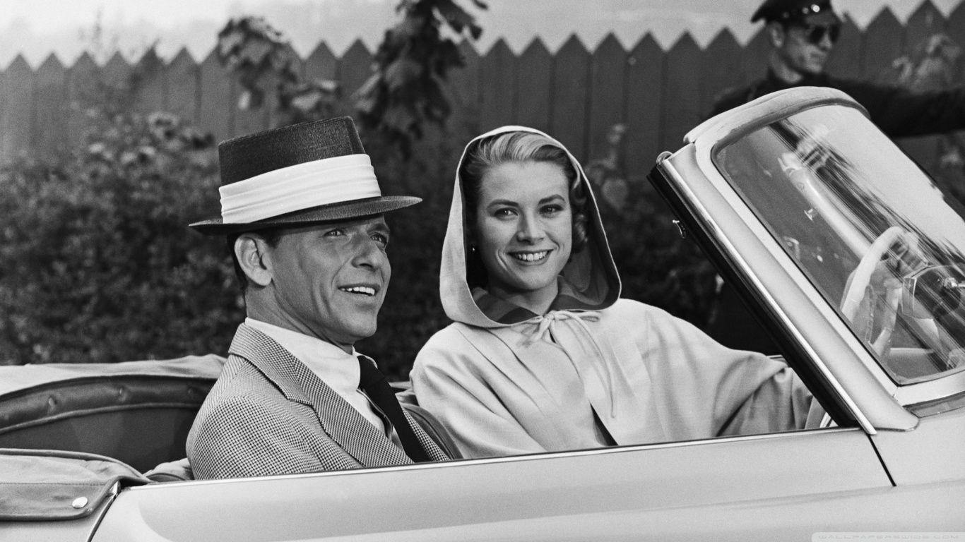 Frank Sinatra And Grace Kelly HD desktop wallpapers : High