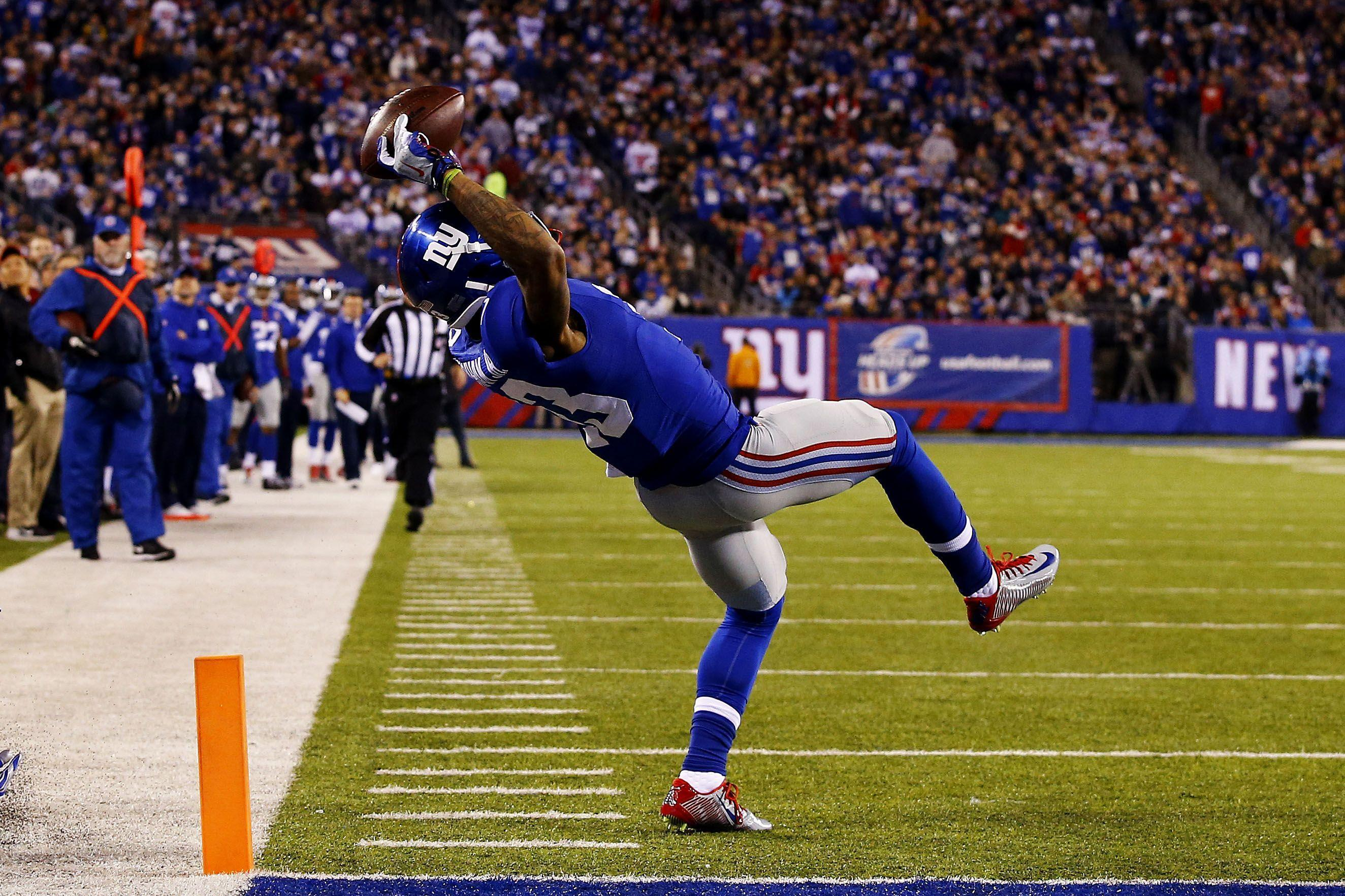 Odell Beckham Jr Football Wallpapers Wallpaper Cave