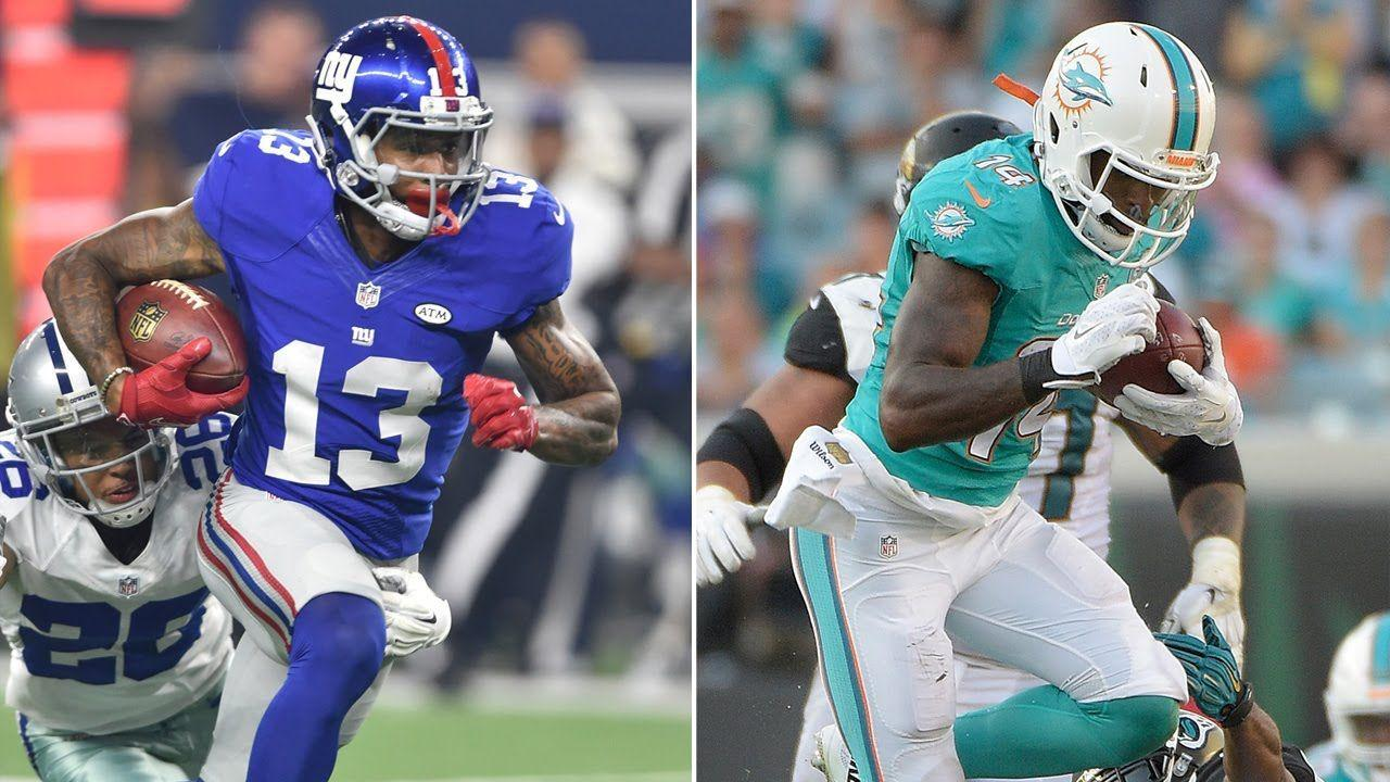 Odell Beckham Jr. and Jarvis Landry Practice Crazy One-Handed ...