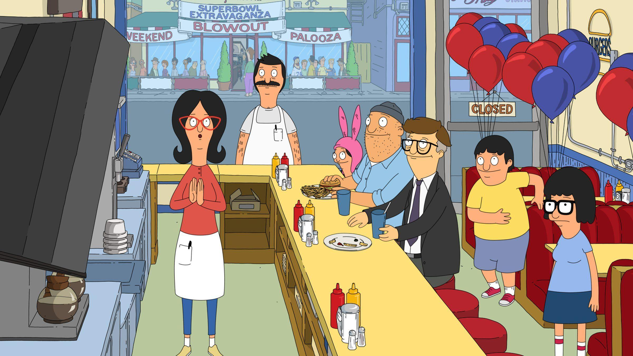 BOBS BURGERS animation comedy cartoon fox series family