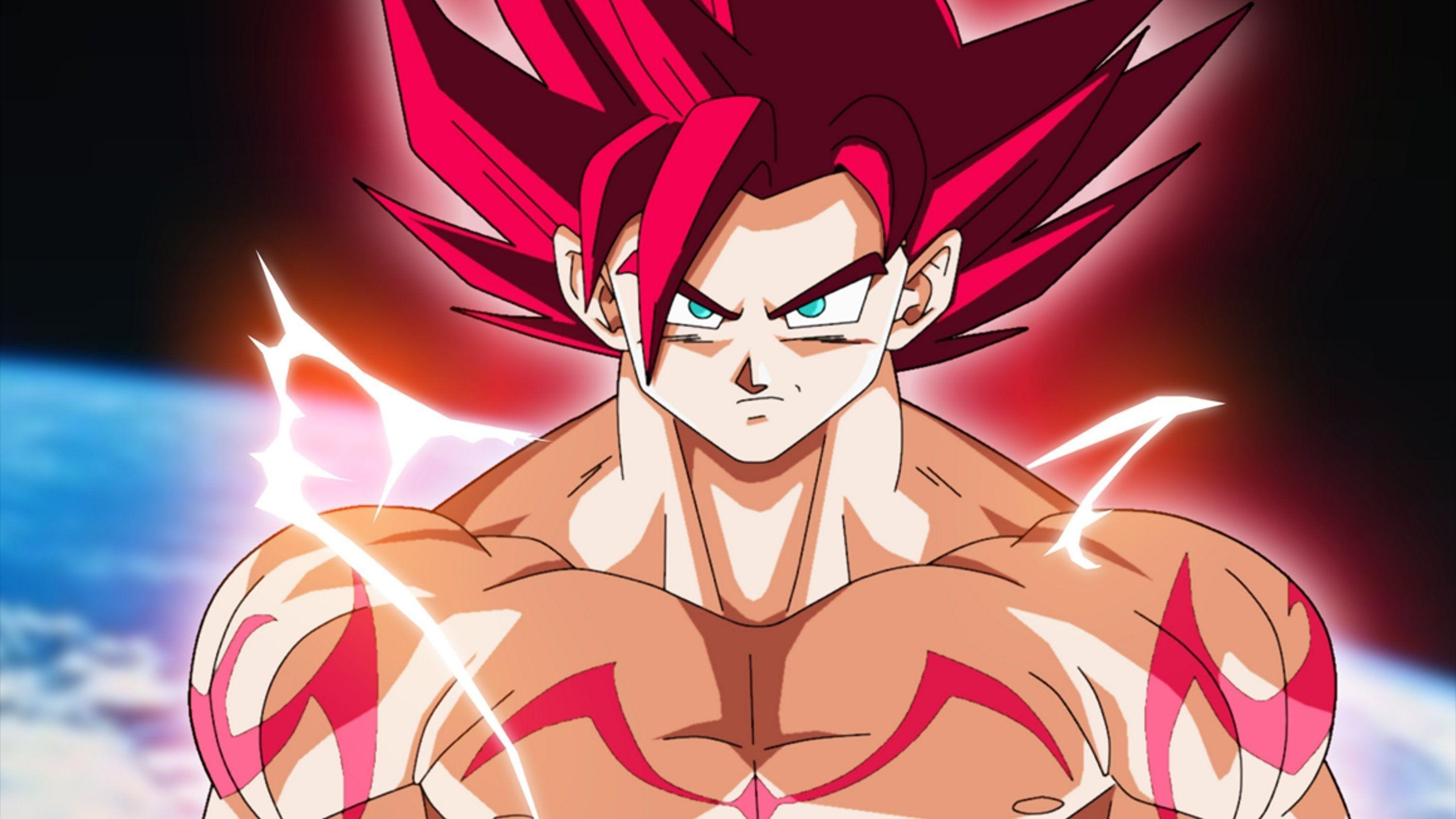 Dragon Ball Z Wallpapers Goku Super Saiyan God Wallpapers : Anime