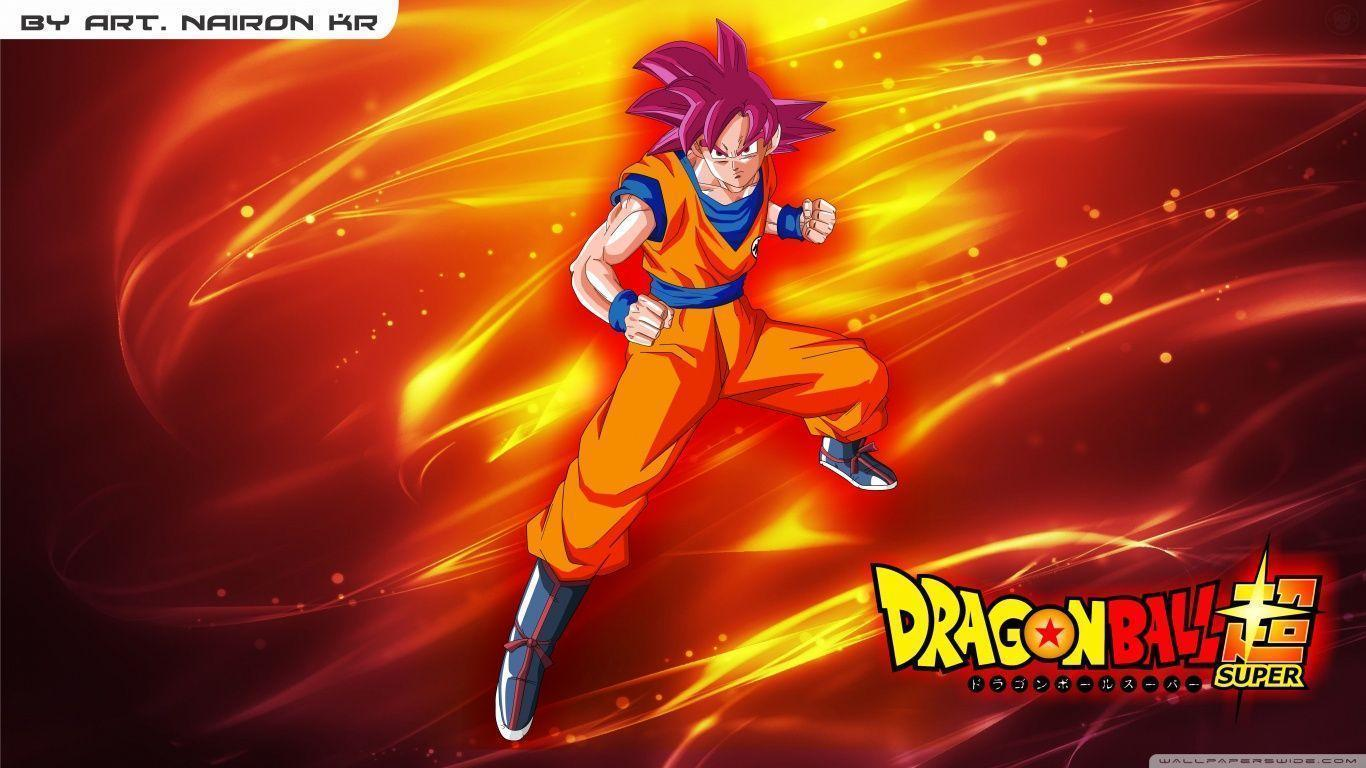 goku super saiyajin god HD desktop wallpapers : High Definition