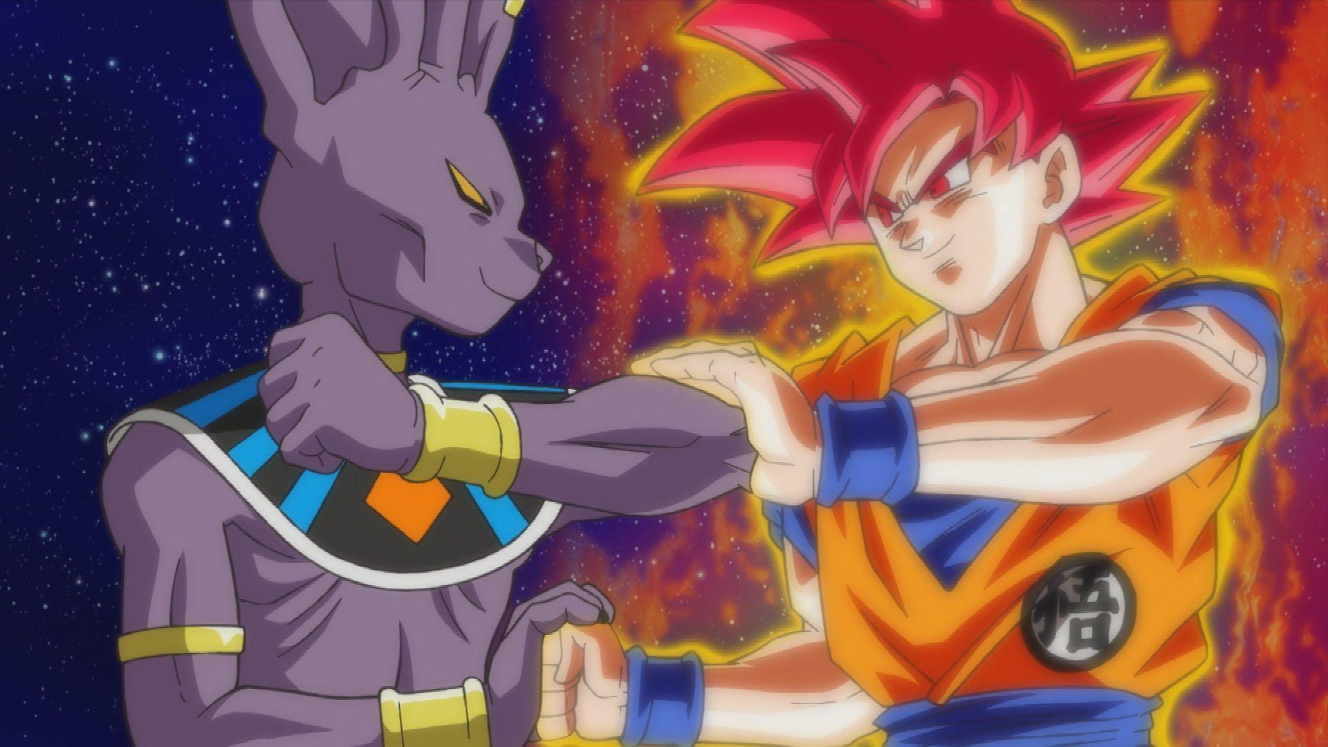 Dragon Ball Z Battle of Gods Bills vs Goku Super Saiyan God