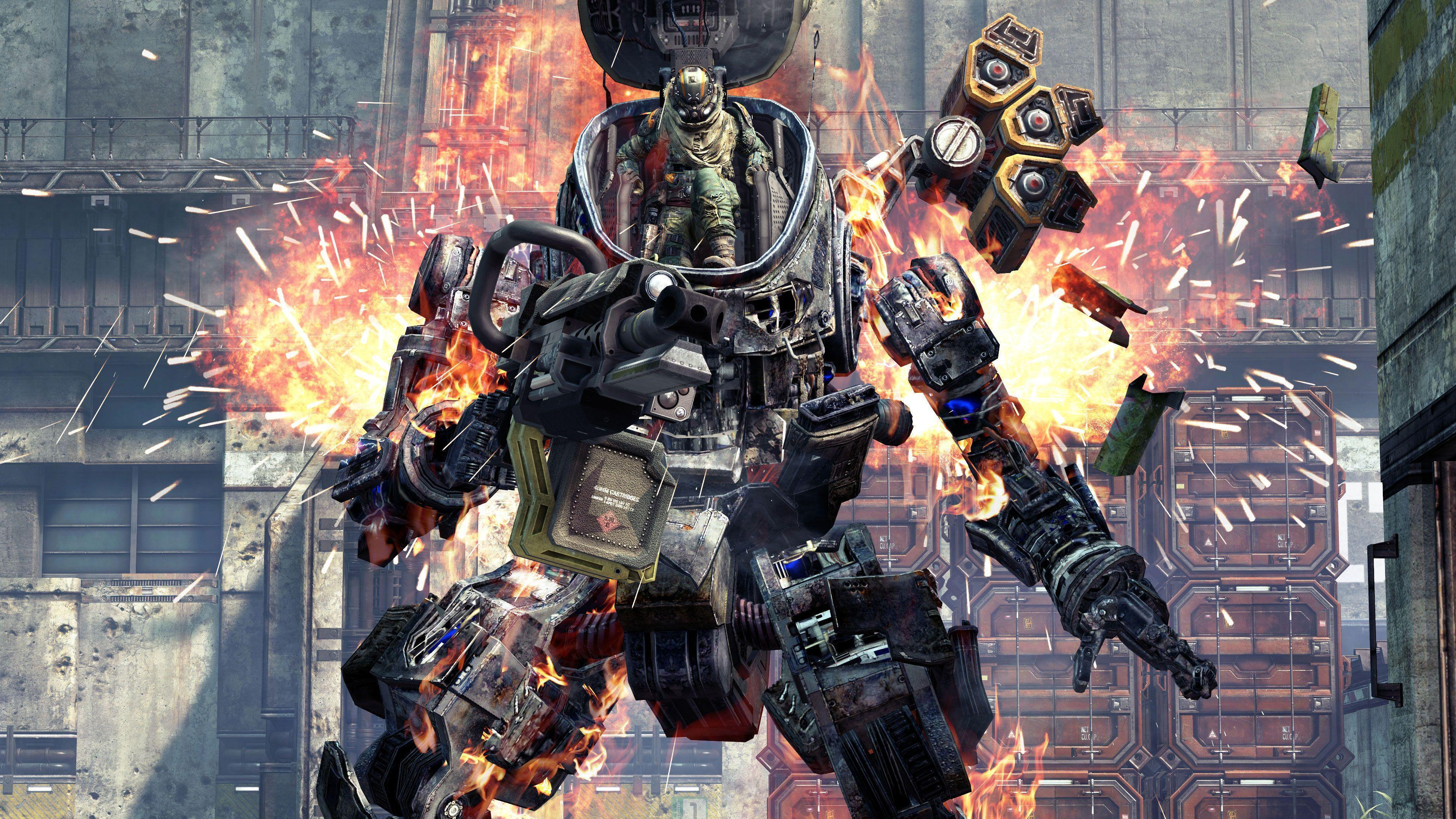 Wallpapers Titanfall 2, 4K, PC, Xbox, PS4, Games,