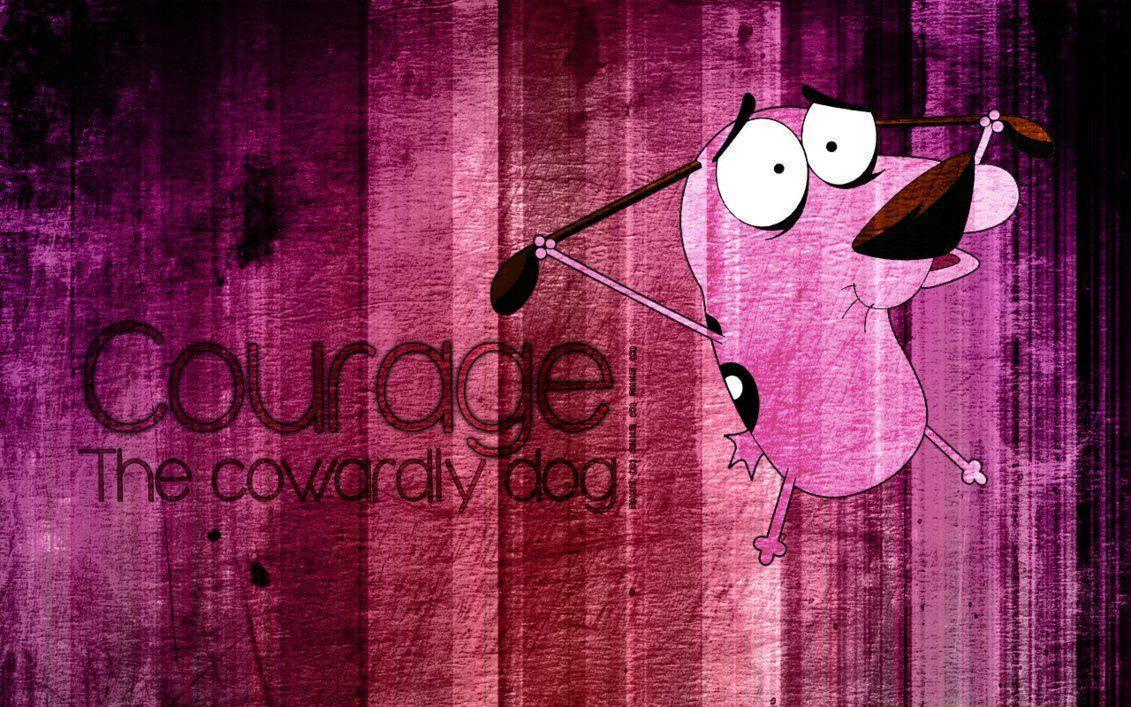 Courage, the cowardly dog by xanne-art on DeviantArt