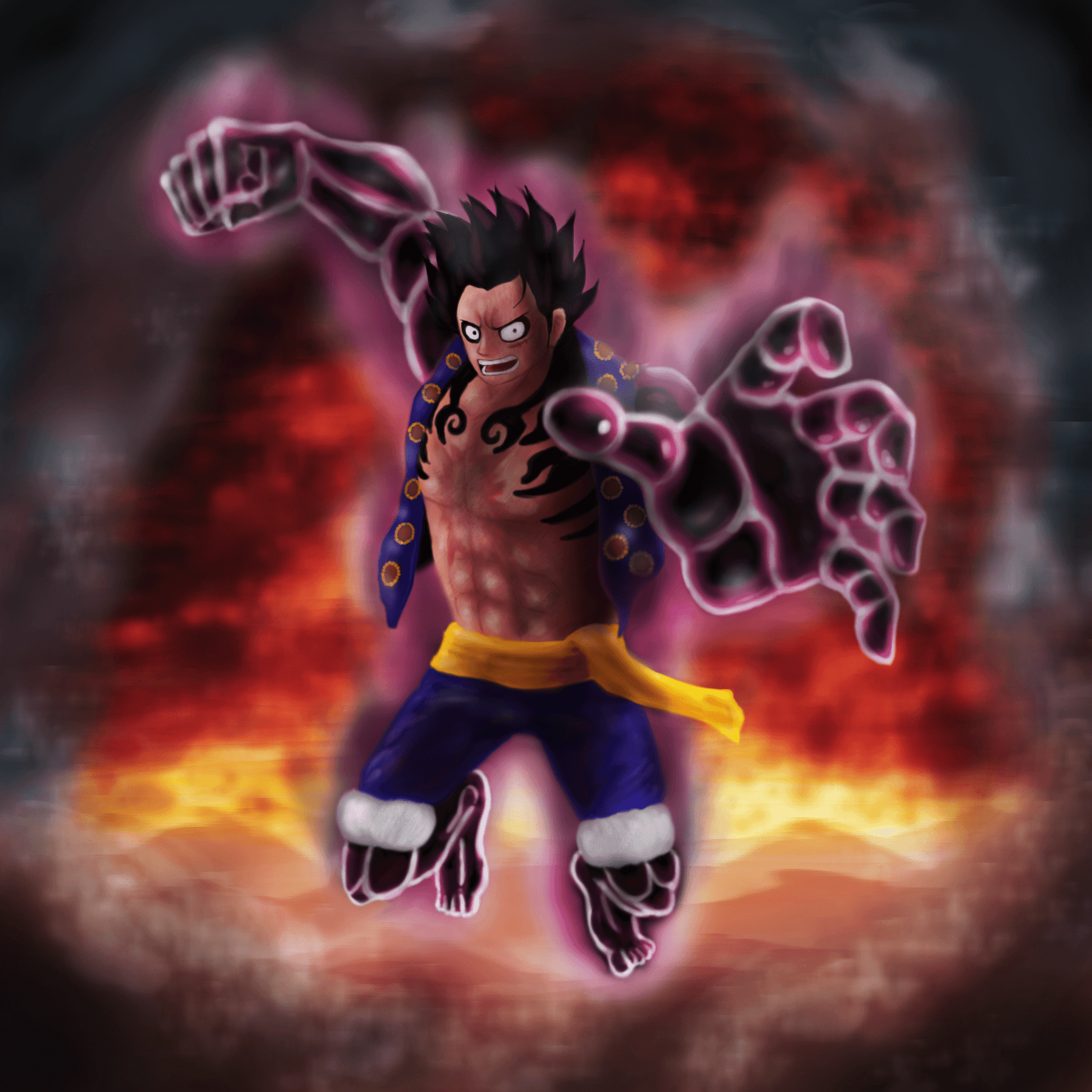 Download Wallpaper Luffy Gear 5 Hd Cikimmcom
