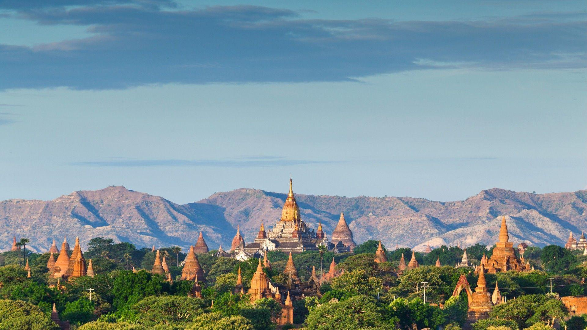 Wallpapers Bagan Temples In Myanmar Burma 1920x1080