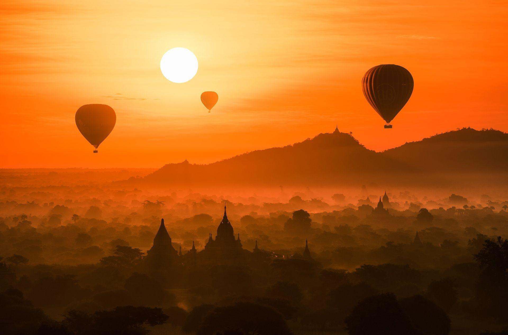 Bagan, Myanmar HD Wallpapers