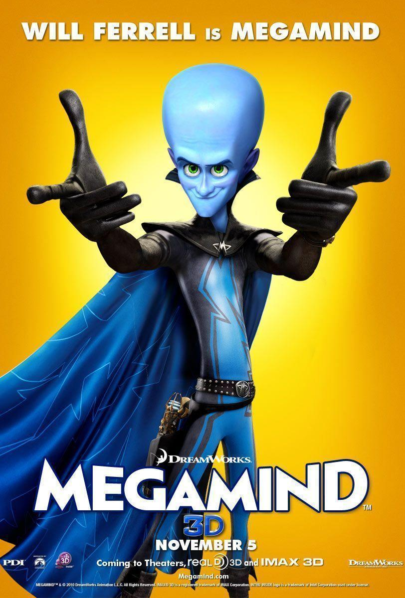 Megamind Movie Poster Desktop Wallpapers