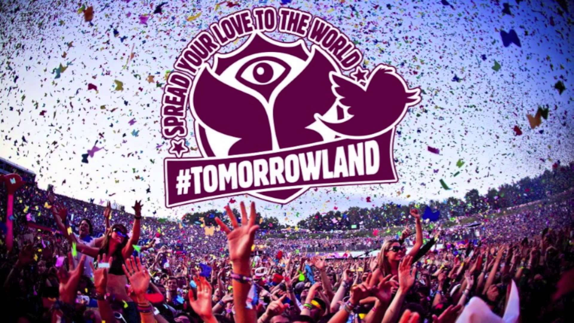 Tomorrowland Logo Wallpapers Wallpaper Cave
