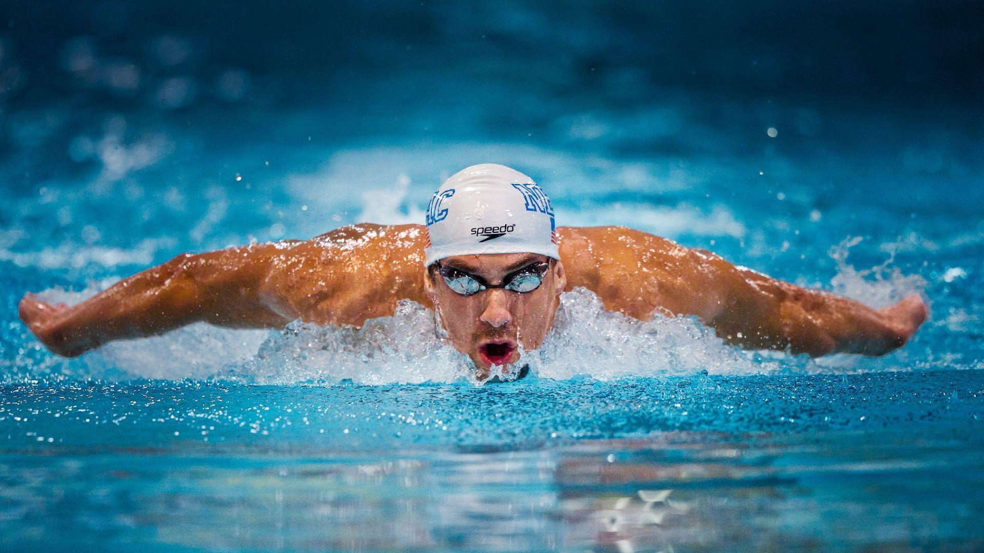 Download Wallpapers 1920x1080 Michael phelps, Swimmer, Olympian