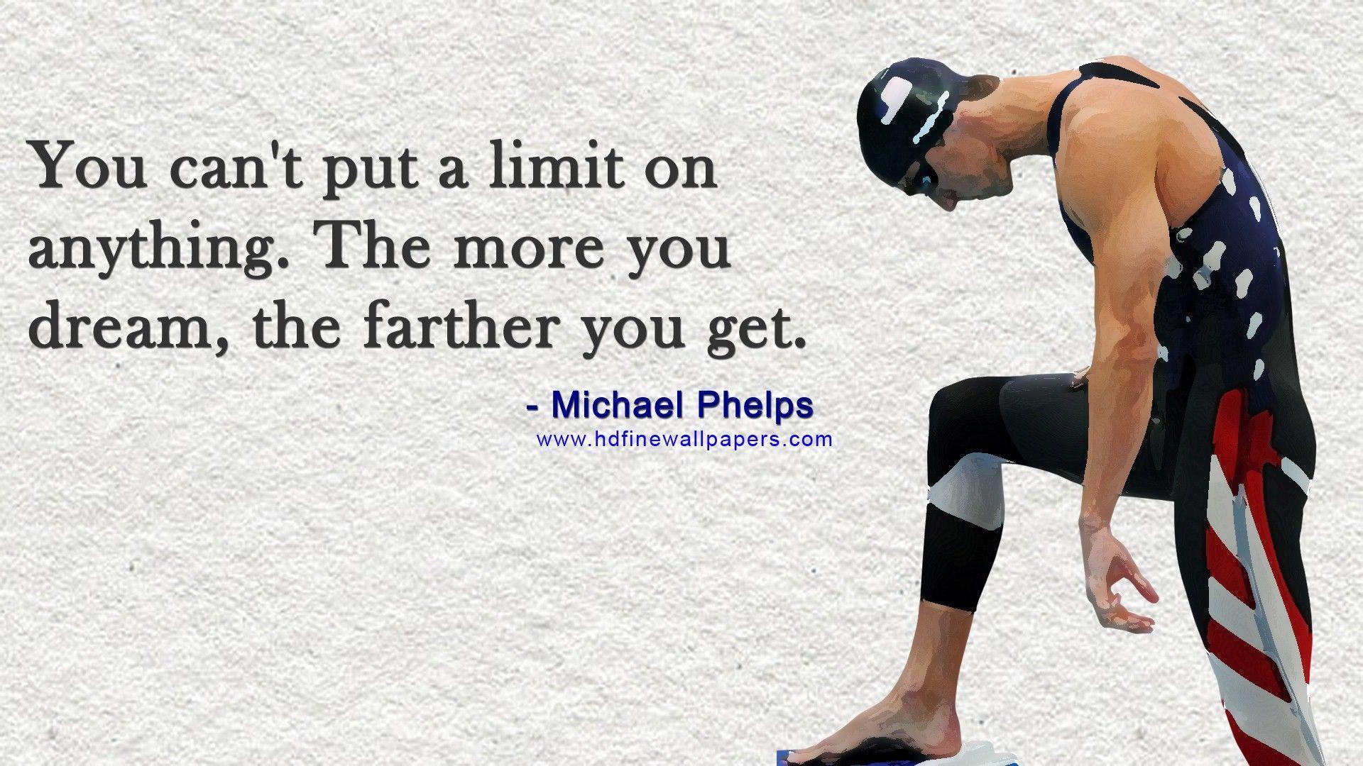 Michael Phelps Quotes Wallpapers HD Backgrounds, Image, Pics