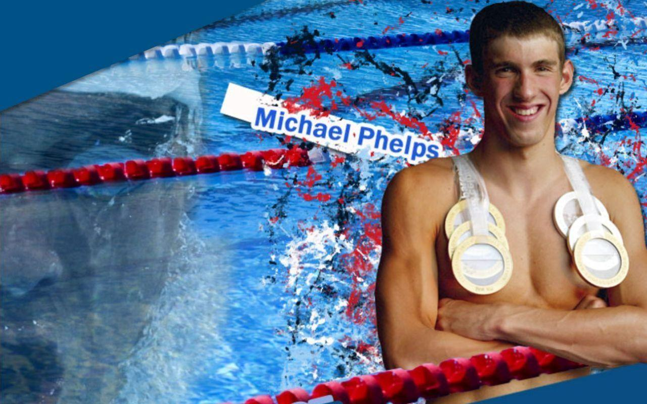 Young Sports Stars: Michael Phelps hd New Wallpapers 2012