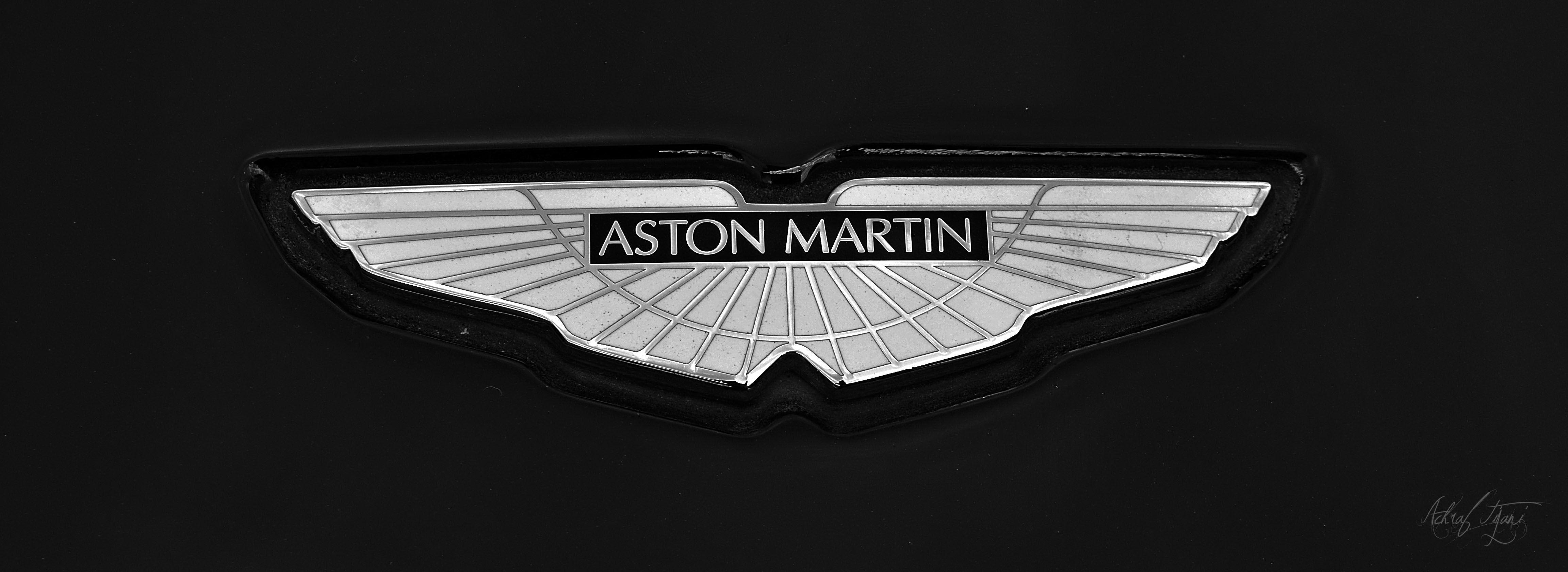 Aston Martin Logo Wallpapers Wallpaper Cave