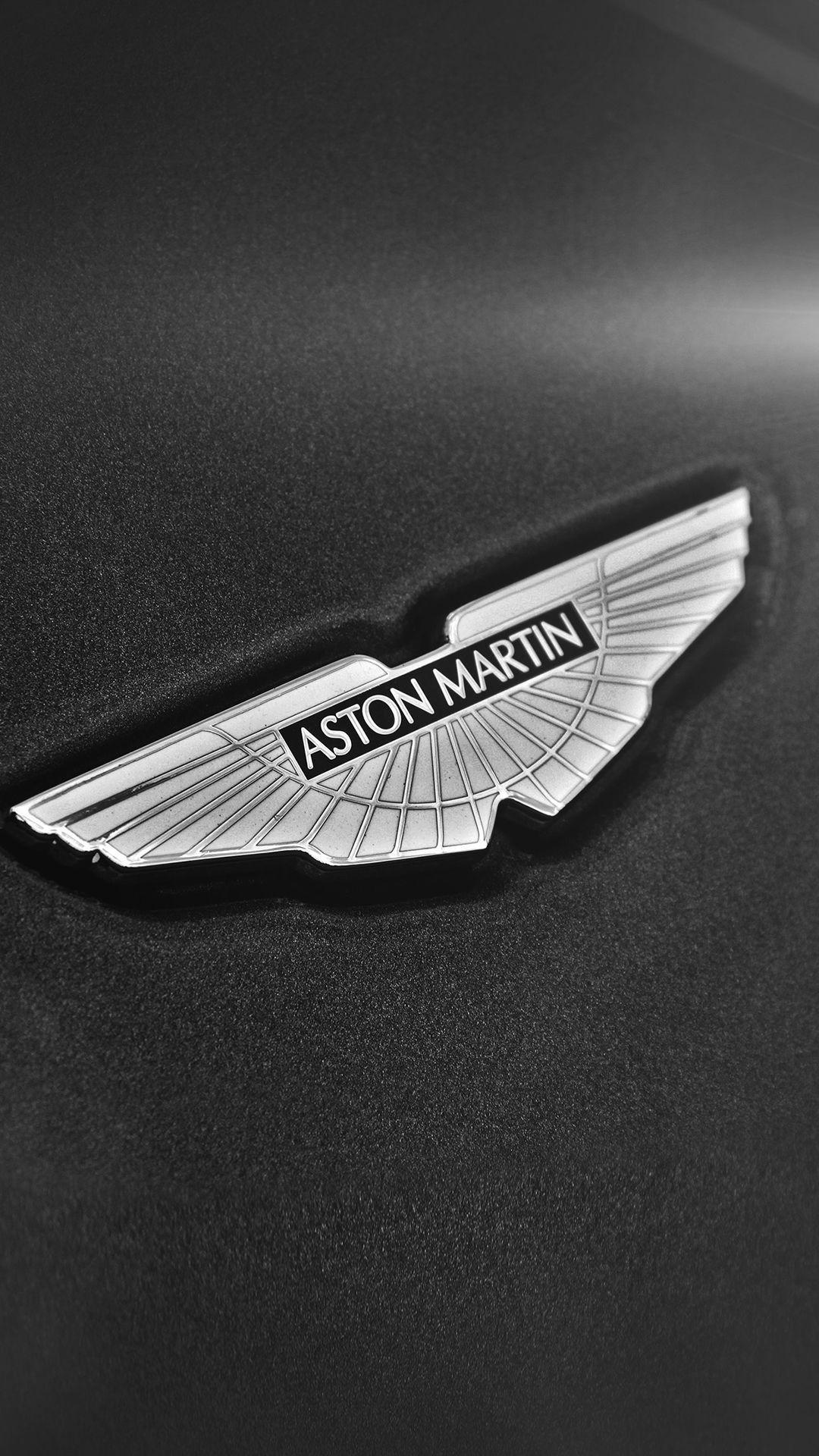 Simple Aston Martin Logo Dark Backgrounds iPhone 6 wallpapers