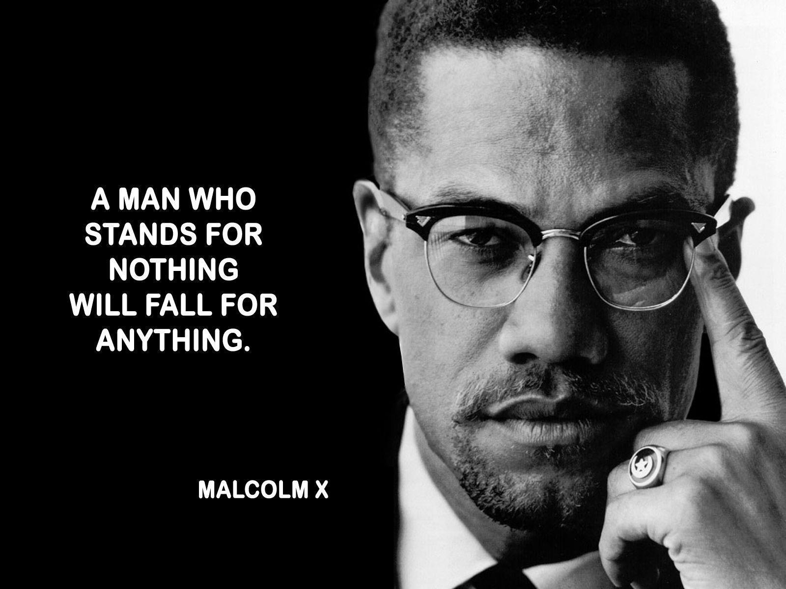 Free Malcolm X computer desktop wallpapers