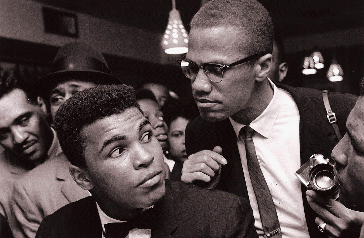 10 Photos of Muhammad Ali with Malcolm X