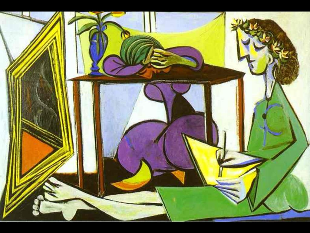 My Free Wallpapers - Artistic Wallpaper : Pablo Picasso - Interior ...
