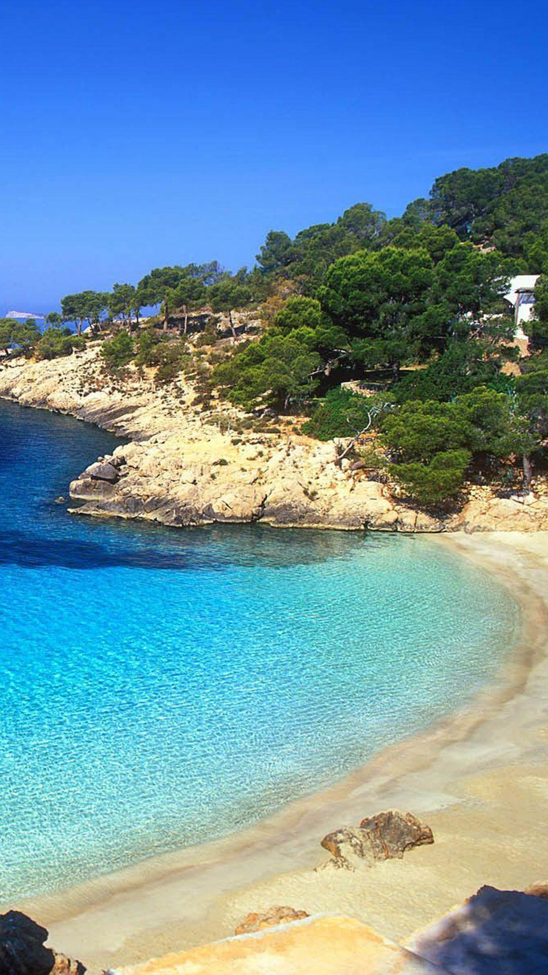 Ibiza Beach Landscape iPhone 6 Plus HD Wallpapers / iPod Wallpapers