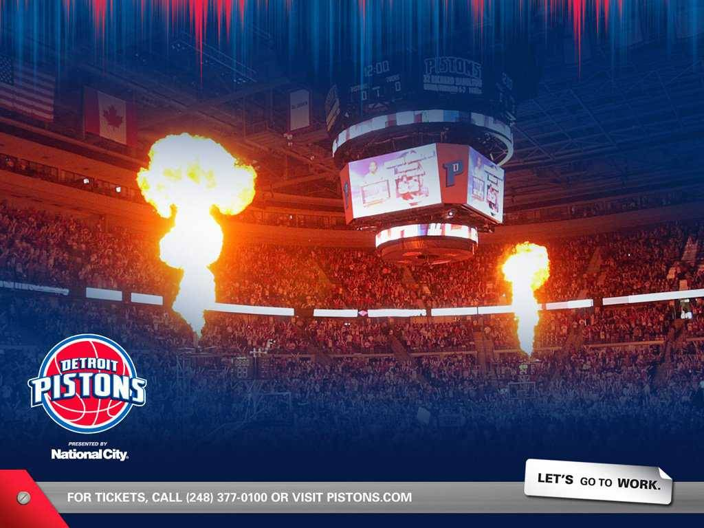 Detroit Pistons Palace Crowd Wallpapers