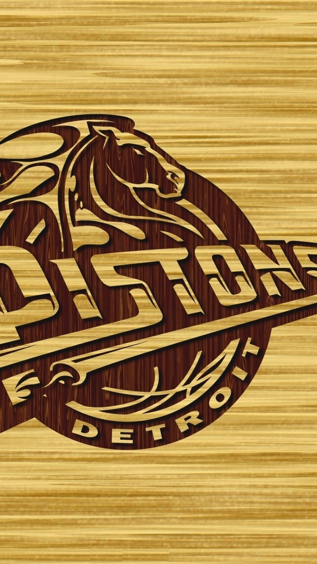 Download Wallpapers 1080x1920 Detroit pistons, Basketball, Detroit