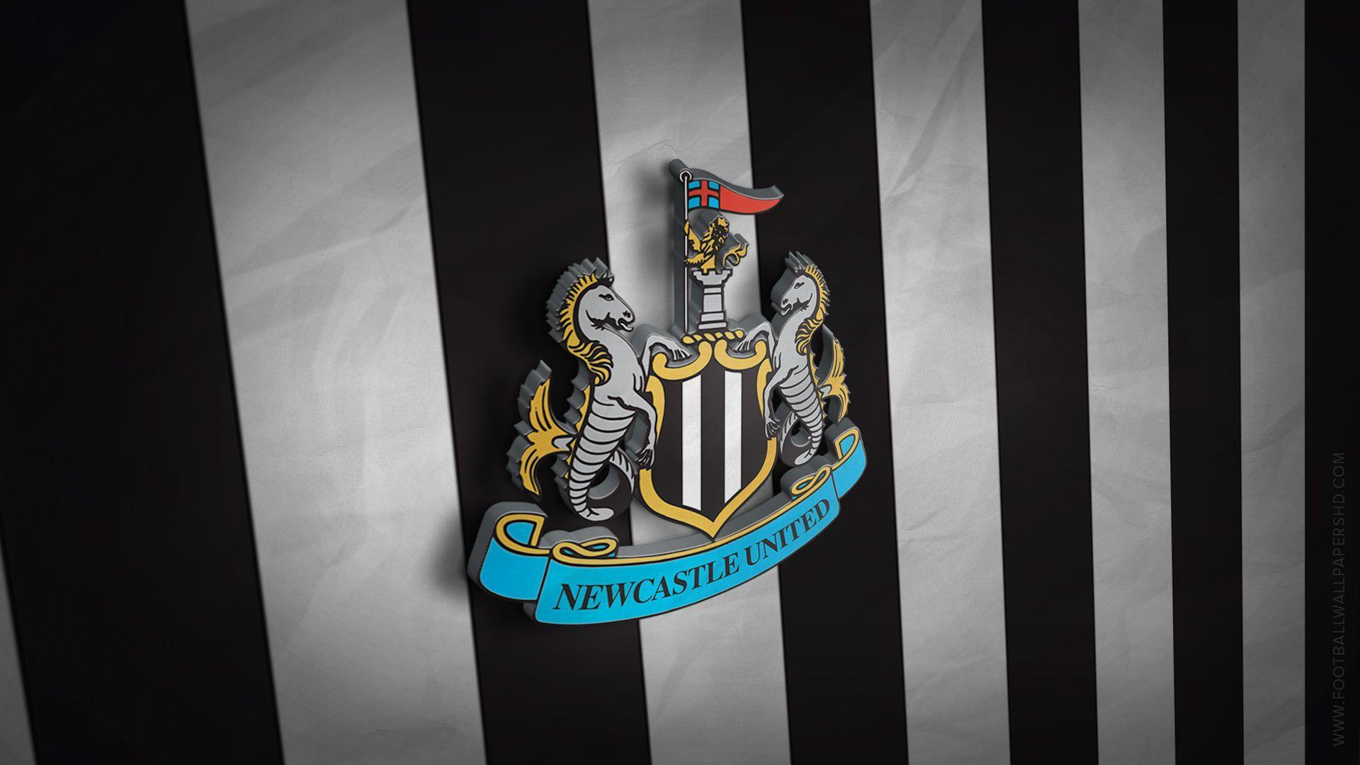 Newcastle United 3D Logo Wallpaper | Football Wallpapers HD ...