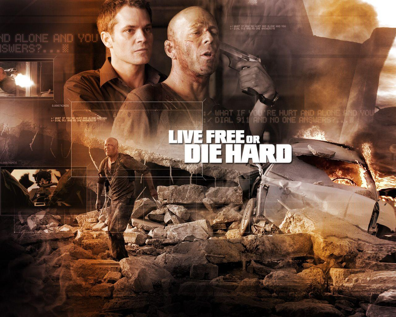 Download the Live Free Die Hard Wallpaper, Live Free Die Hard